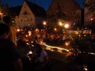 Schafbach in Flammen